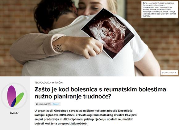Planiranje trudnoće kod bolesnica s reumatskim bolestima