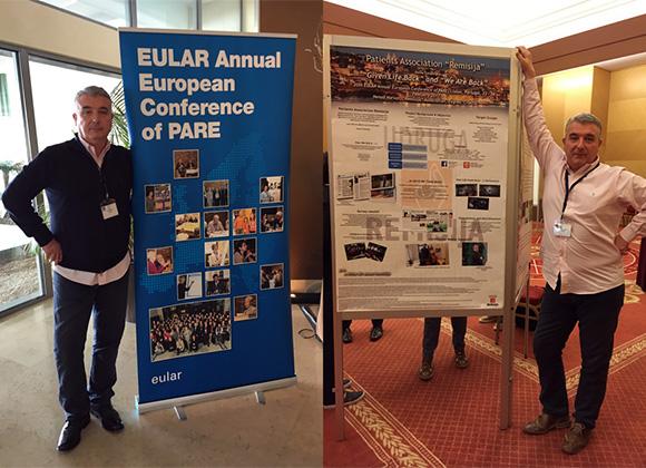 Predstavljanje na godišnjoj EULAR PARE konferenciji