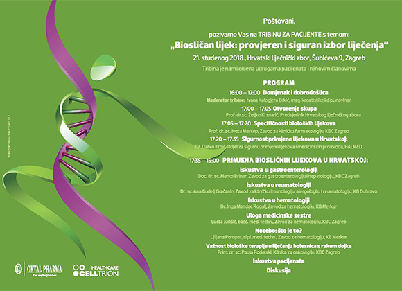 """Tribina """"Biosličan lijek: provjeren i siguran izbor liječenja"""""""